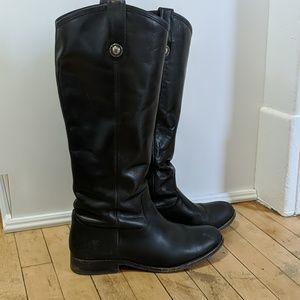 Frye Melissa Button Boots, size 8.5